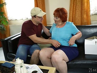 Chubby mature ugly tart Marsha actually loves some mish fuck