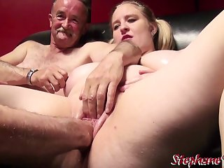 Bridget Fun Bags French Supersized Big Beautiful Woman With 2 Old Man - straightforwardly