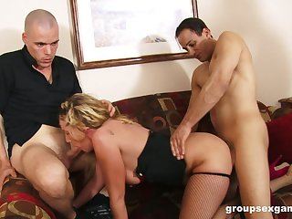 MILF fucked as a result hard go off at a tangent she falls exhausted and flooded away from jizz