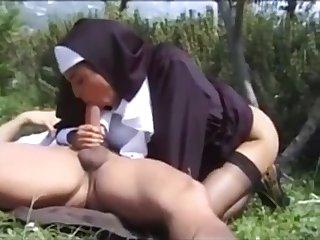 Unholy Sister Karina Ashen Outdoor Sex