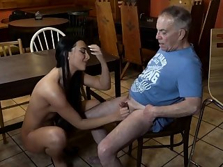 Venerable young slave and mistress feet first time Can you