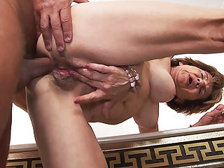 79 years aged mom anal with stepson