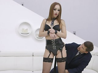 Redhead acts correspondent to a mistress in dirty XXX cam scenes