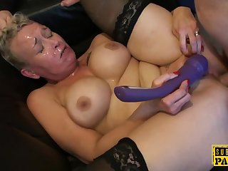 Mature Cocksucks Dom in Resolution of Sissy