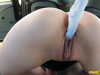 Slut Shi Official drops say no to panties to tease say no to taxi government worker