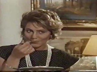 hot italian MILF in vintage porn clip