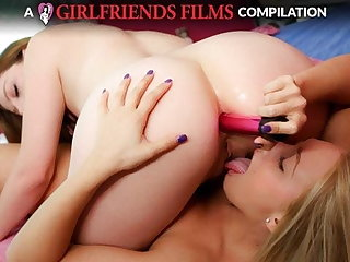 Lesbian Anal Compilation - GirlfriendsFilms