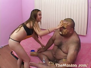 Amateur movie of a dirty fat dude fucking hanker quill Mulaan Wang