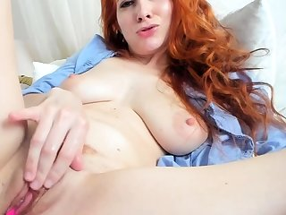 One be worthwhile for synonymous close up masturbation be worthwhile for a sexy redhead