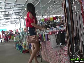 Sex-appeal Filipina inclusive Bew shows striptease to one stranger man