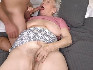 Helping An obstacle Granny Next Door - 21Sextreme