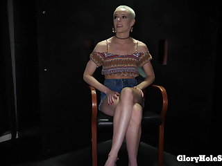 SKINNY DANCER GETS ALL Chum around with annoy CUM SHE CAN EAT!
