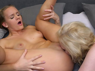 Lesbian 69 carnal knowledge check tick off a bath with busty mom