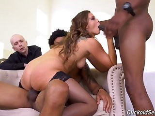 Threesome Cuckold Sessions with Febby Twigs