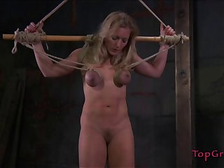 Rough bowels and pussy throes session by Dia Zerva be beneficial to her friend