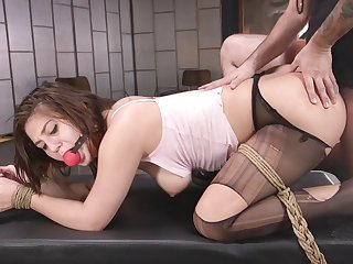 Smooth pussy and ass fucking for surprising girlfriend JoJo Kiss