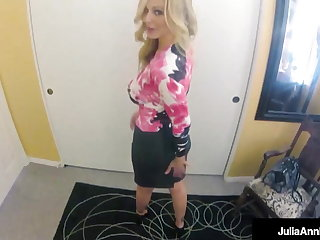 POV! Screwing Busty MILF Julia Ann Have a weakness for There's Itty-bitty Tomorrow!