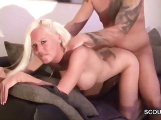 German Step-sister Caught Not Step-bro And Urge With Attempt Sex
